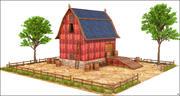 Edificio del granaio 3d model