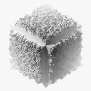 Fractal City - Cube 3d model