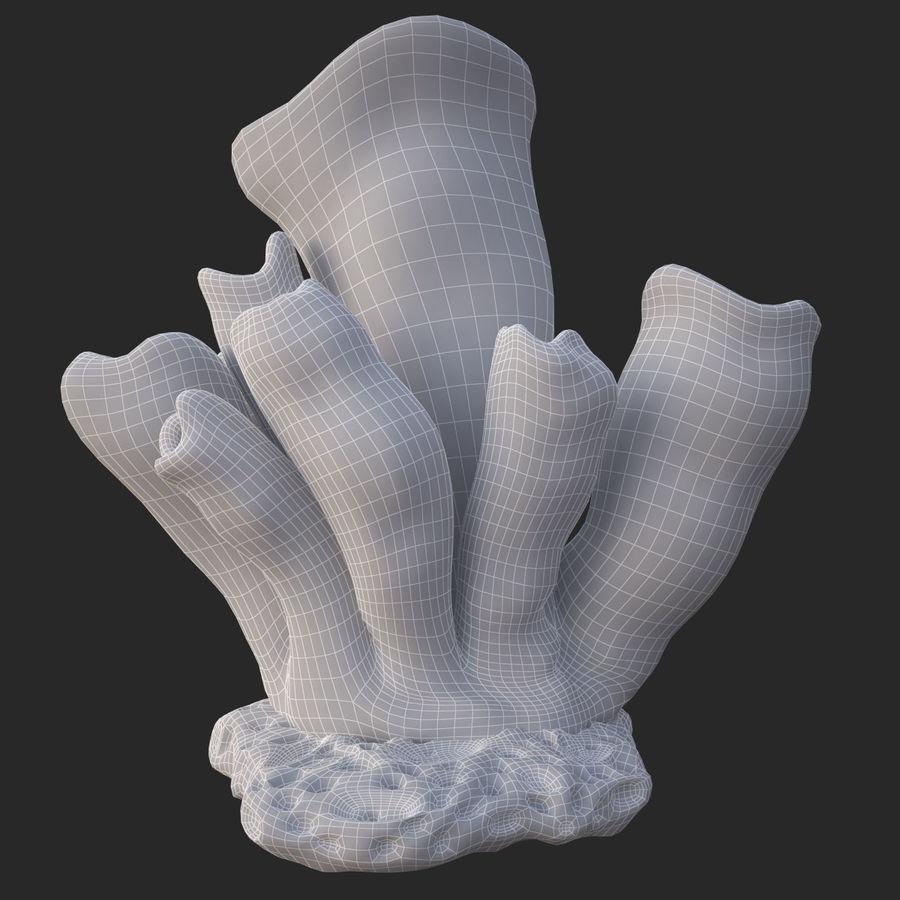 coral tube_v2 royalty-free 3d model - Preview no. 18