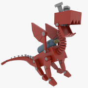 Mech Dragon Creature 3d model