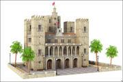 British Castle 3d model