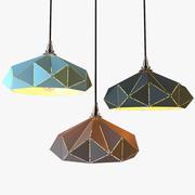 Geometrie-Lampe 3d model