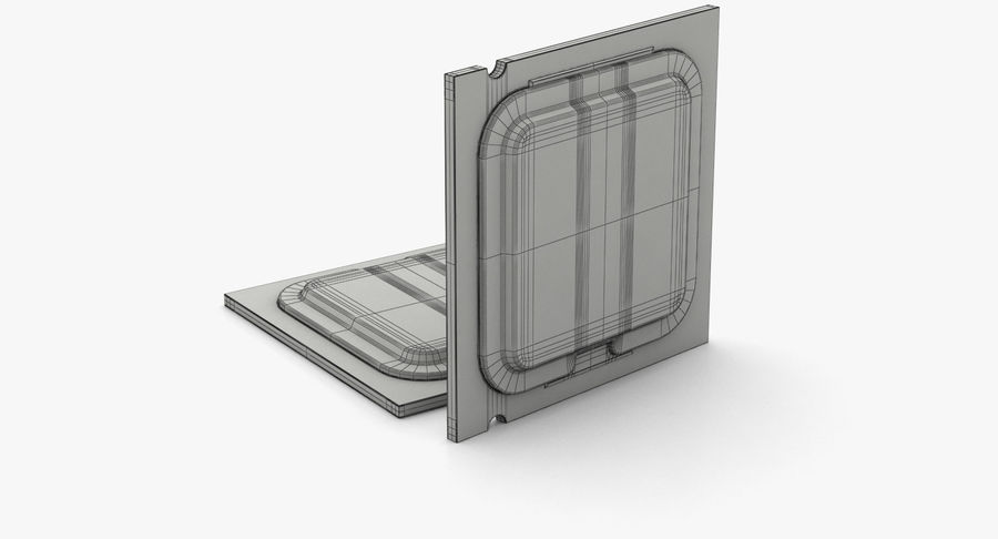 CPU royalty-free 3d model - Preview no. 11