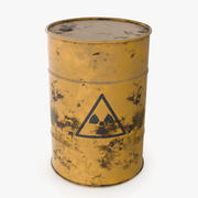 Barrel Radioactive 3d model
