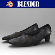 Female_Boots 3d model