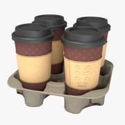 Coffee Carrier 3d model