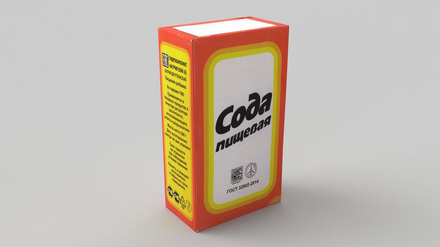 Baking Soda royalty-free 3d model - Preview no. 2