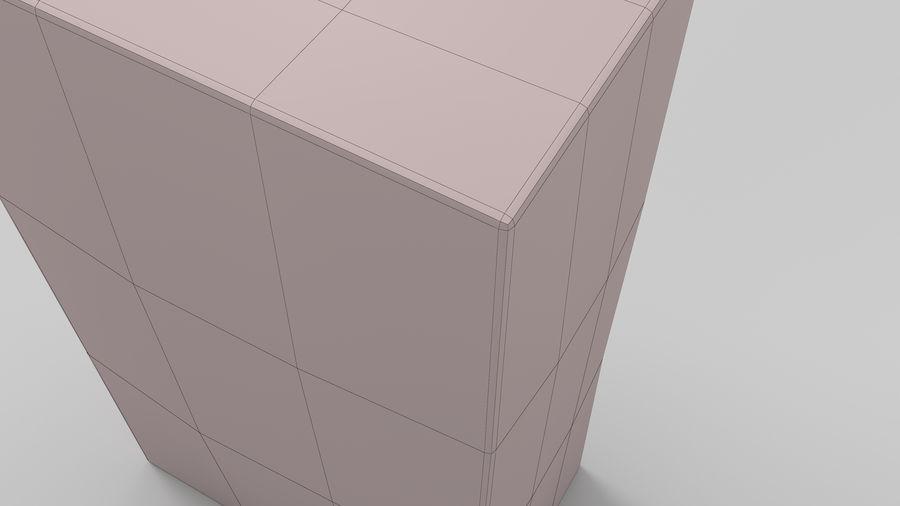 Baking Soda royalty-free 3d model - Preview no. 12