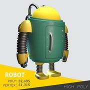 робот 3d model