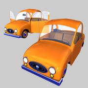 Toon Car LeZee 3d model