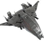 우주선 3d model