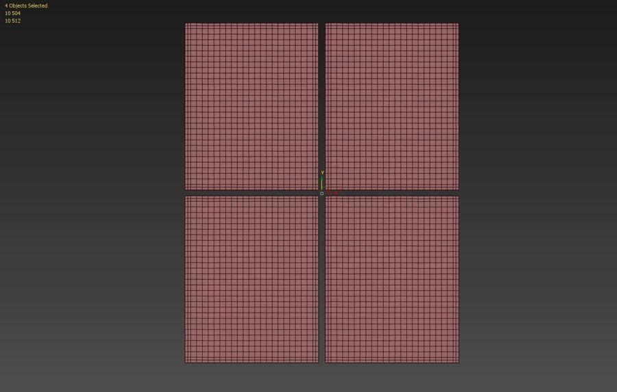 メダリオンラグRH royalty-free 3d model - Preview no. 9