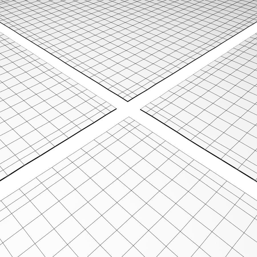 メダリオンラグRH royalty-free 3d model - Preview no. 8