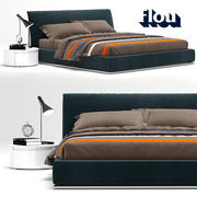 Flou Sailor Bed 3d model