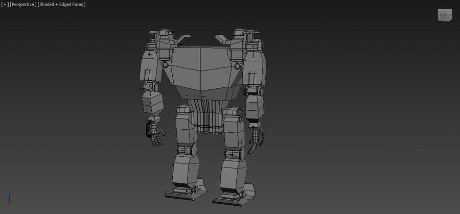 전사 로봇 조작 royalty-free 3d model - Preview no. 10