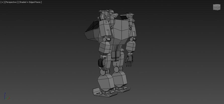 전사 로봇 조작 royalty-free 3d model - Preview no. 11