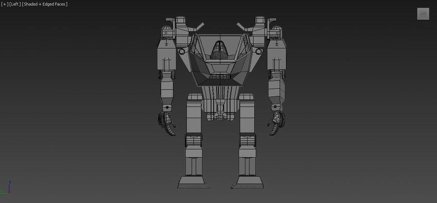 전사 로봇 조작 royalty-free 3d model - Preview no. 7