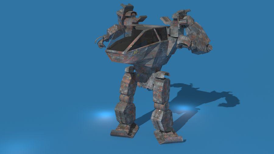 전사 로봇 조작 royalty-free 3d model - Preview no. 1