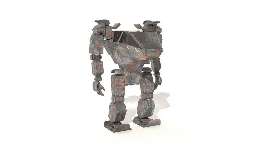 전사 로봇 조작 royalty-free 3d model - Preview no. 5