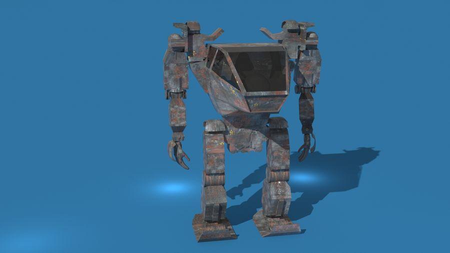 전사 로봇 조작 royalty-free 3d model - Preview no. 3