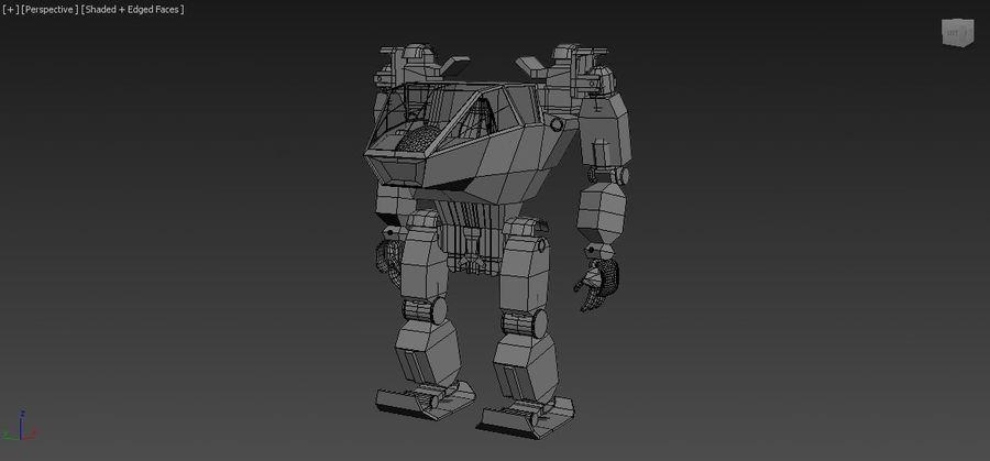 전사 로봇 조작 royalty-free 3d model - Preview no. 8