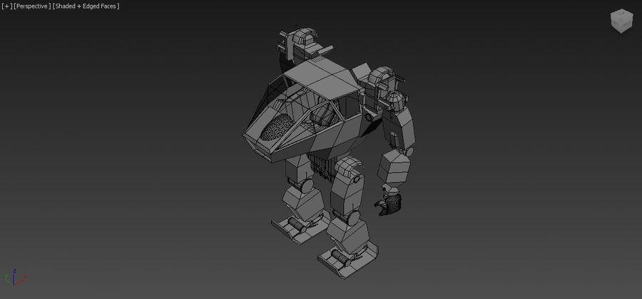 전사 로봇 조작 royalty-free 3d model - Preview no. 12