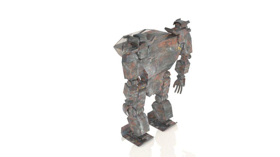 전사 로봇 조작 royalty-free 3d model - Preview no. 6