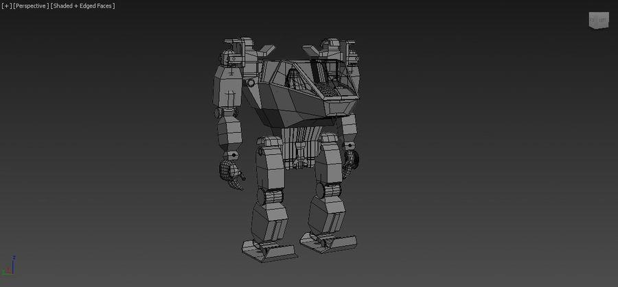 전사 로봇 조작 royalty-free 3d model - Preview no. 9
