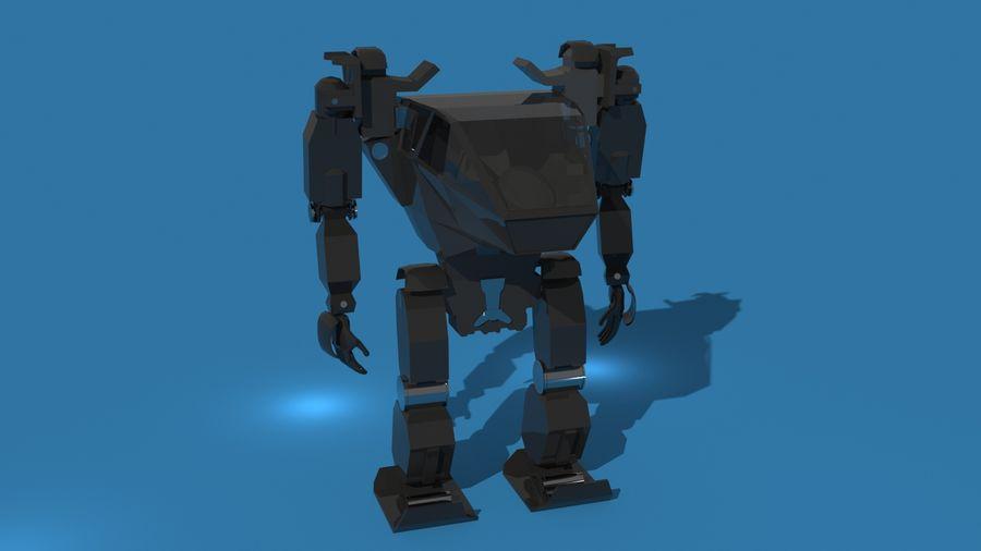 전사 로봇 조작 royalty-free 3d model - Preview no. 2