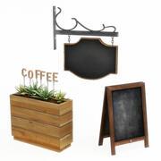 Cafe tekenen 1 3d model