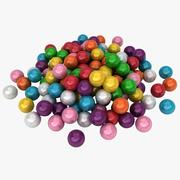 Bubble Gum Pile 3d model