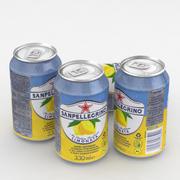 Beverage Can SanPellegrino Limonata 330ml 3d model
