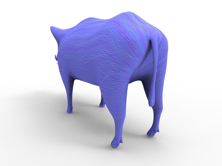 Cinghiale royalty-free 3d model - Preview no. 21