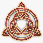 Triquetra Celtic Knot 3d model