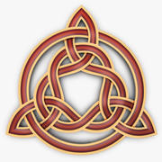 Triquetra Celtic Knot 3d model