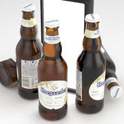 Bira Şişesi Hoegaarden Buğday 330ml 3d model