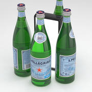 San Pellegrino Water Bottle 750ml 3d model