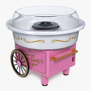 Carnival Cotton Candy Maker 3D Model 3d model