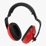 Skyddande hörlurar för arbete 3D-modell 3d model