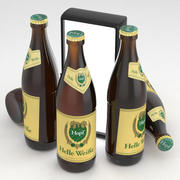 Bira Şişesi Hopf Helle Weisse 500ml 3d model