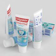 Pasta de dientes Colgate Sensitive Pro Relief WhiteningPasta de dientes Colgate Sensitive Pro Relief Whitening 75ml Caja y tubo 2018 modelo 3d