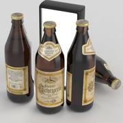 Bierflasche Scheyern Kloster Weisse Hölle 500ml 3d model