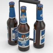 柏林啤酒瓶Kindl Weisse 330ml 3d model