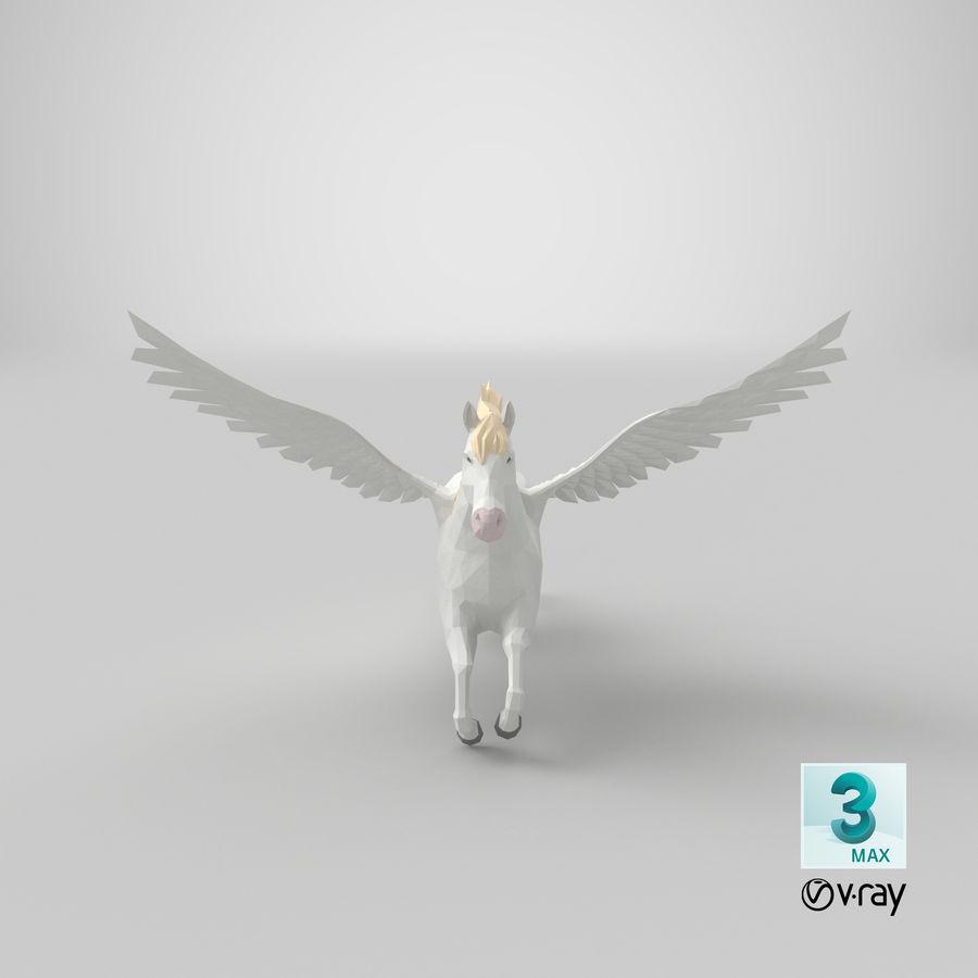 Pegasus Flying royalty-free 3d model - Preview no. 21