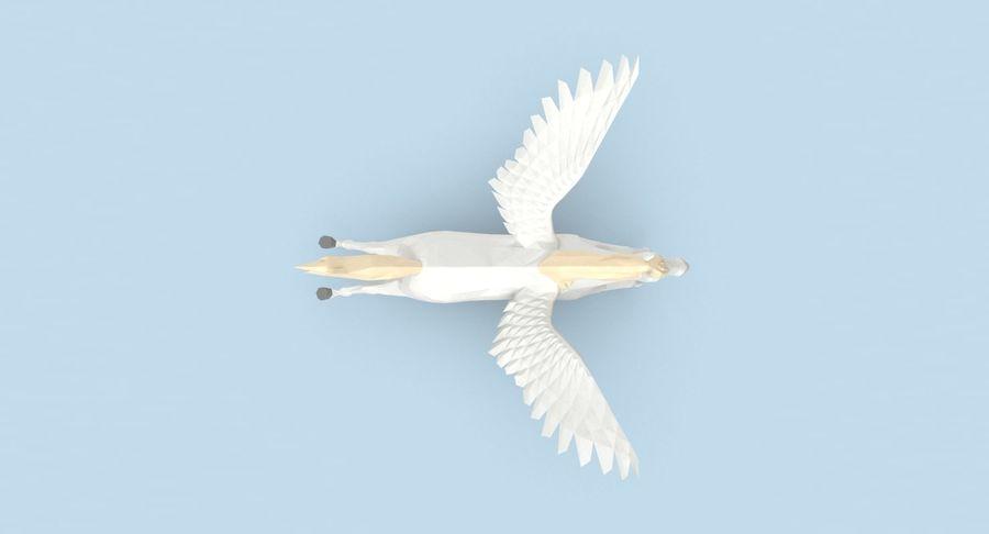 Pegasus Flying royalty-free 3d model - Preview no. 5