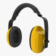 Säkerhet öronljus 3d model