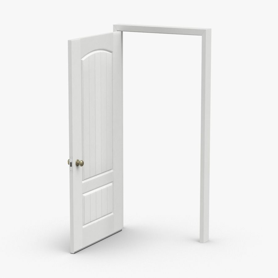 Exterior Door 3 Open royalty-free 3d model - Preview no. 1