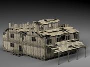 被遗弃的老房子 3d model