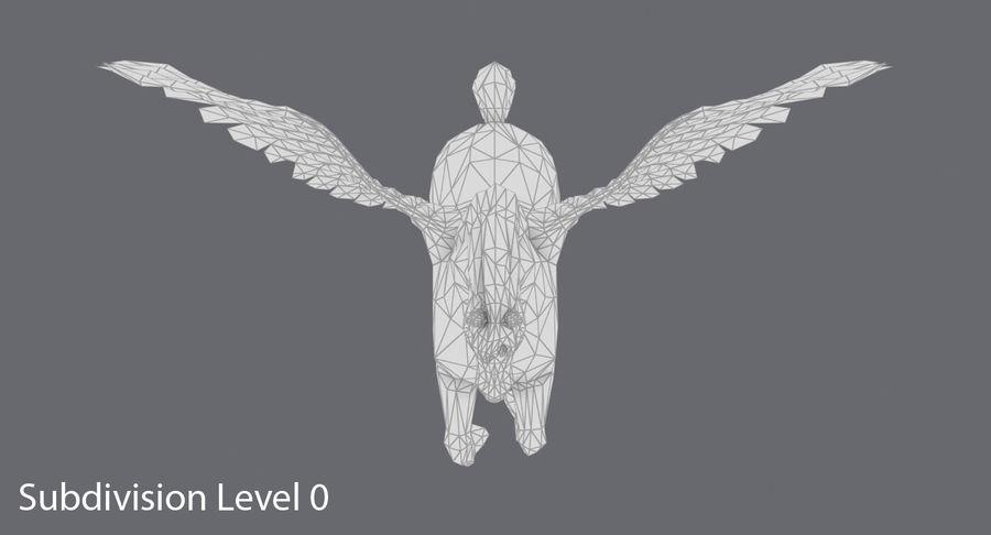 ペガサス飼育 royalty-free 3d model - Preview no. 13