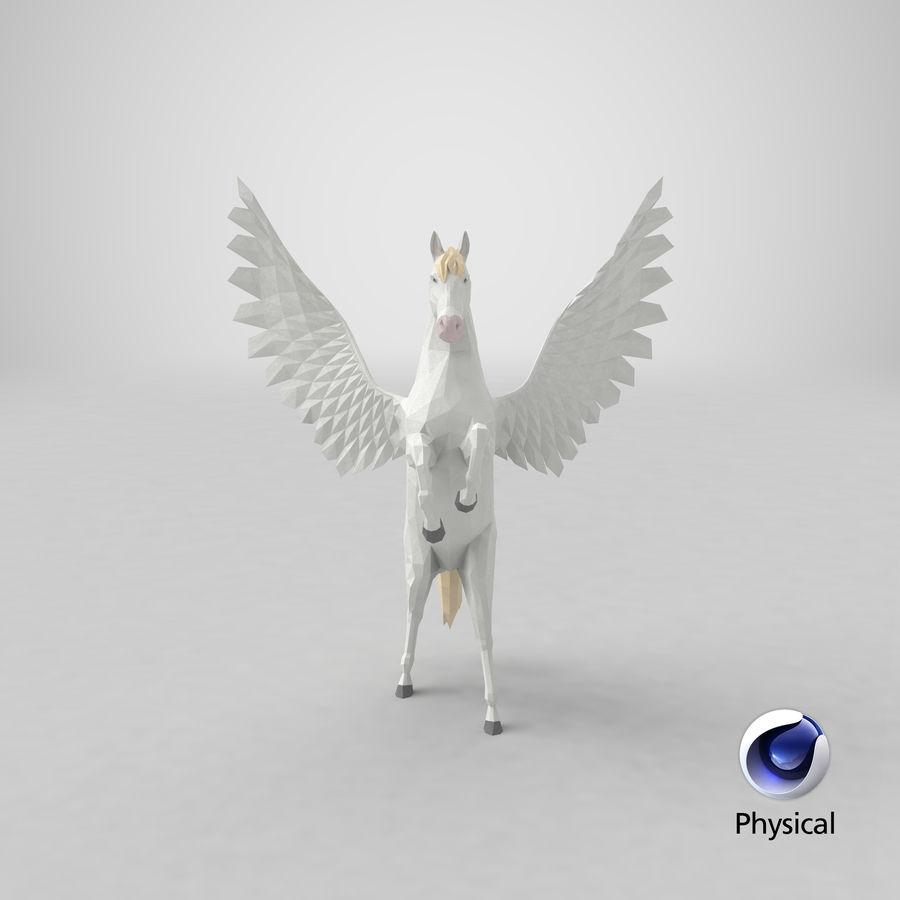 ペガサス飼育 royalty-free 3d model - Preview no. 23